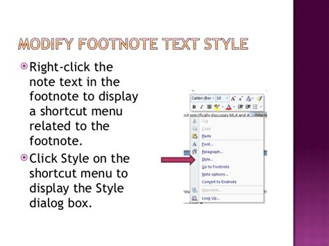 modify footnote text style 3 01 3 creating a research paper 2