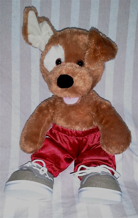 build a bear dog house build a bear 14 inch plush brown dog w clothing