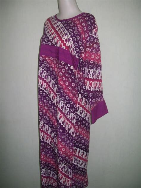 Gamis Daster Batik Cap daster batik cap bahan santung model abaya ds010 toko