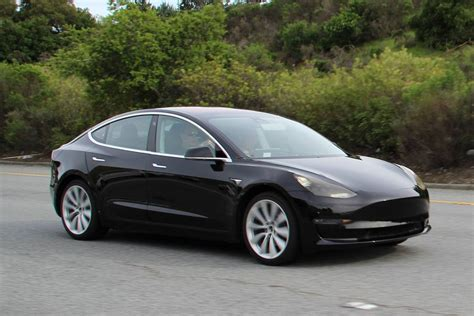 tesla model 3 on sale tesla model 3 completely undisguised gtspirit