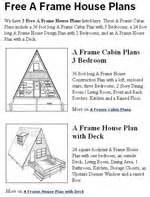 Free A Frame House Plans by Free House Plans Free Floor Plans