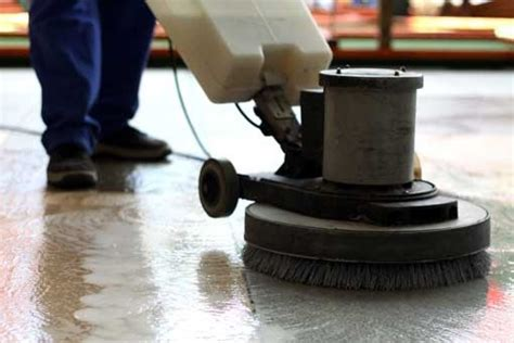 industrial floor cleaning machines why call in the pros