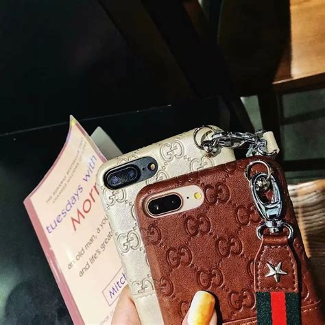 gucci leather wallet phone case cover  apple iphone   phone swag