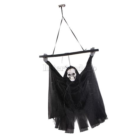 battery powered hanging l hanging halloween battery operated animated light up ghost