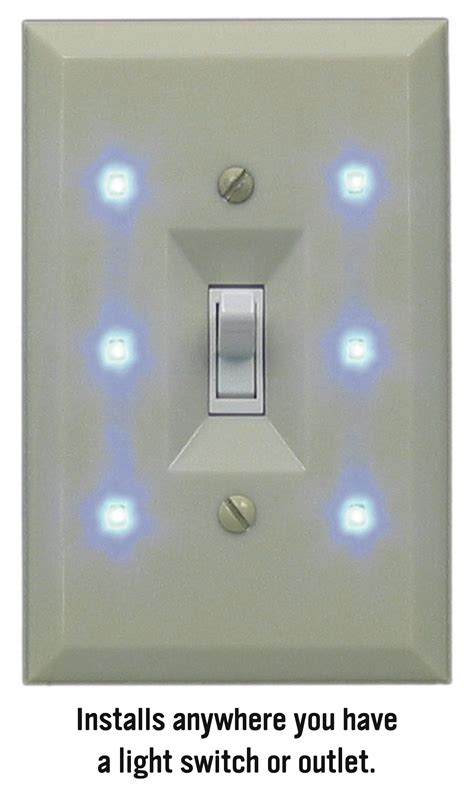 night light switch plate lite a switch elegant night light improves hotel guest