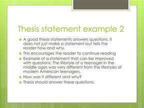 Writing A Thesis Statement Ppt Ppt Different Ways To Approach Writing A Thesis