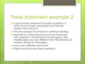 a thesis statement exle an exle of a thesis 28 images write me a thesis