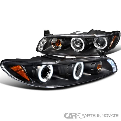 pontiac 97 03 grand prix led halo projector headlights