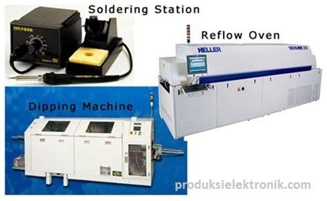 Kipas Penyedot Asap mengenal proses menyolder komponen elektronika dalam produksi