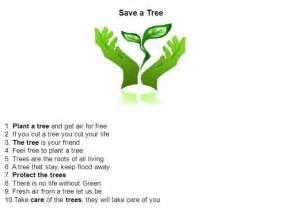 Plant Trees Save Earth Essay by Save Tree Presentation Authorstream