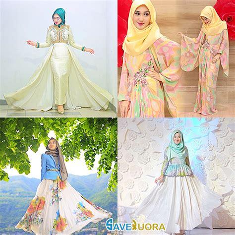 Trend Baju Muslim Lebaran Wanita model gambar baju muslim lebaran trend terbaru tahun ini 2018