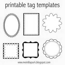 Free Printable Tags Templates by Free Printable Tag Templates For Diy Tags Ausdruckbare