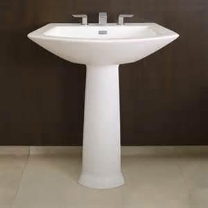 modern pedestal bathroom sinks pedestal sinks a surprising solution for any bathroom