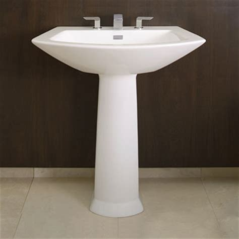 modern bathroom pedestal sink pedestal sinks a surprising solution for any bathroom