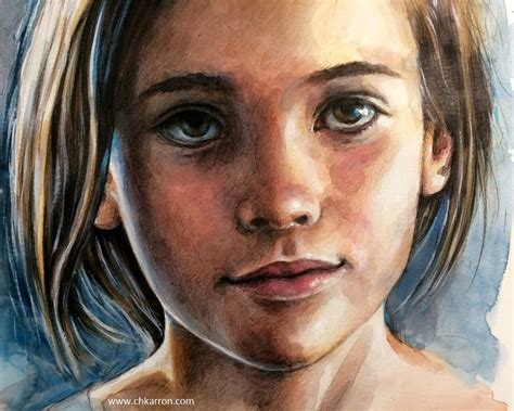 colored pencil painting portraits 0385346271 watercolor and colored pencils portrait speed paint by ch karron youtube