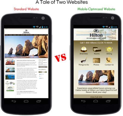 non mobile your non mobile optimized hotel website is losing revenue