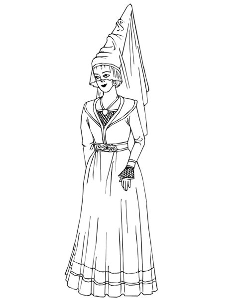princess hat coloring pages princess coloring page princess with hat