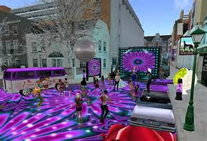 70s themed decorations return to the 70 s hibiscus in sl