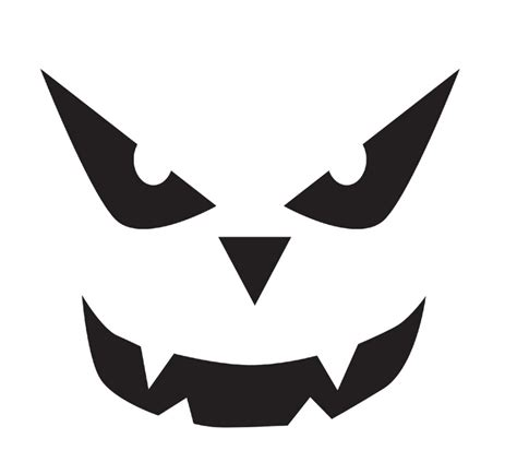 free printable scary jack o lantern stencils my cosy home free halloween stencils to print and cut out