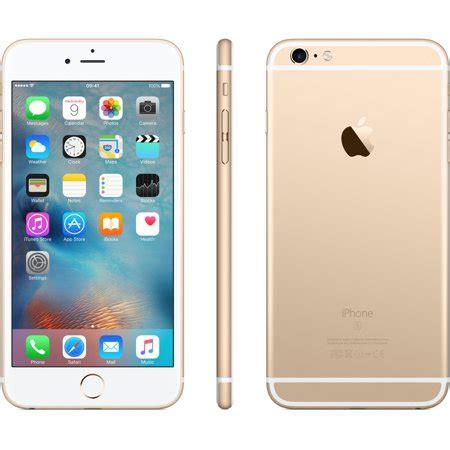 refurbished iphone   gb gold unlocked walmartcom