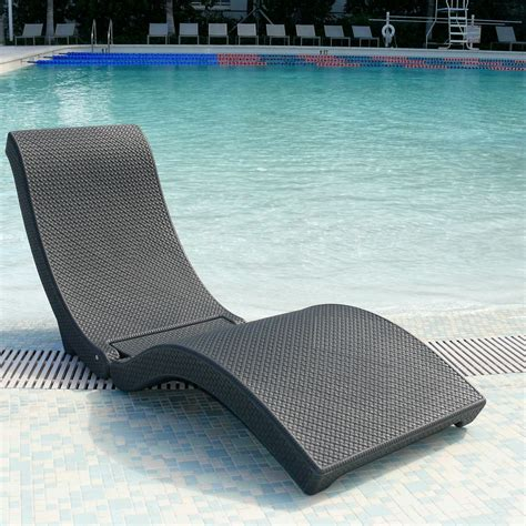 lounge chairs for pool deck water in pool chaise lounge chairs outdoor furniture in