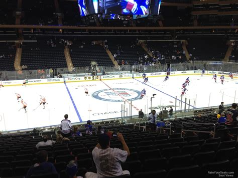 section 116 msg madison square garden section 116 new york rangers