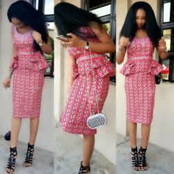 Amazing nigerian traditional skirt and blouse styles