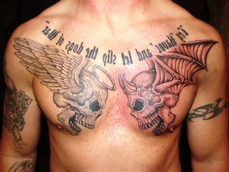 good and bad tattoo designs and evil tattoos designs evil