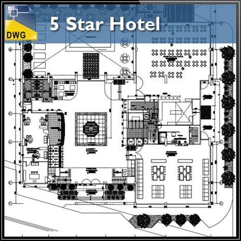 layout of laundry in 5 star hotels hotel floor plan l dwg free cad blocks download hotel