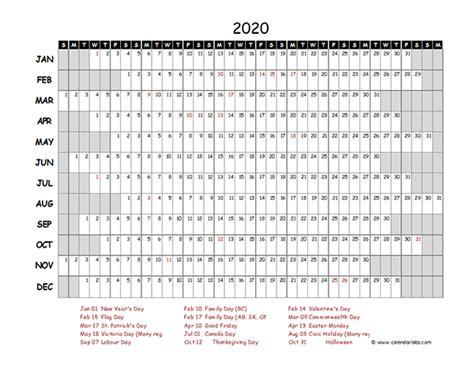 canada project timeline calendar  printable templates