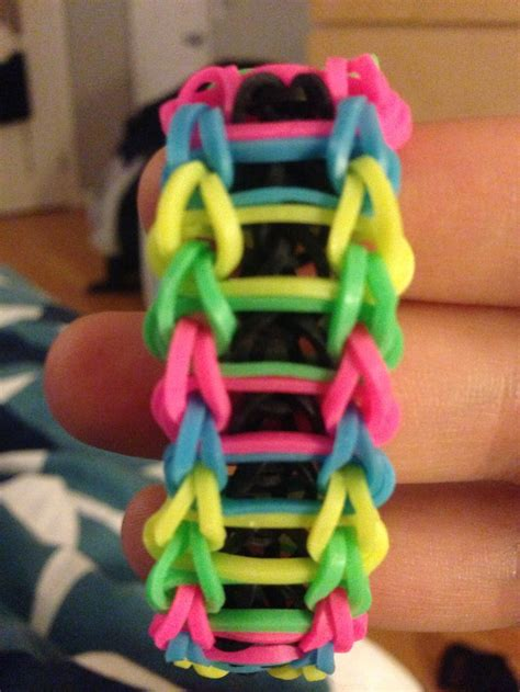 how to make a ladder bracelet with rainbow loom ladder rainbow loom