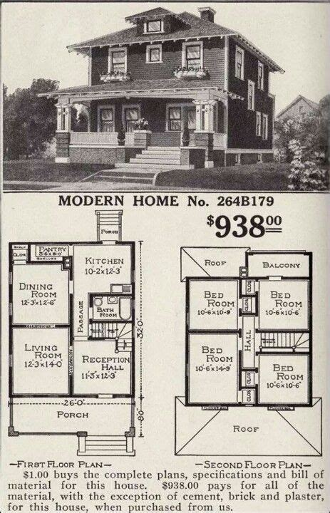 1900s House Plans 1000 Ideas About Four Square Homes On