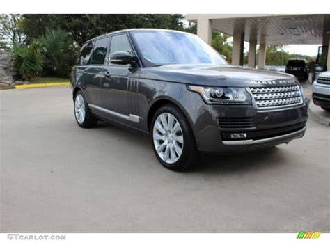 land rover gray 2016 waitomo grey metallic land rover range rover