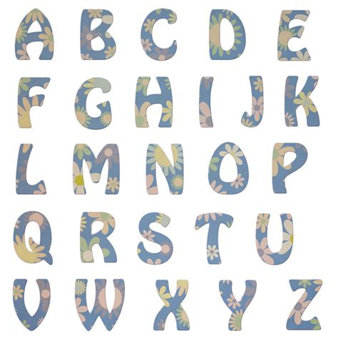 imagenes de letras vintage letras del alfabeto vintage floral stock de foto gratis