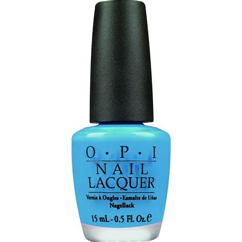nail lacquer opi nail no room for the blues 15ml