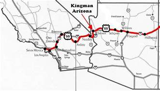 map route 66 arizona arizona route 66 map pictures to pin on pinsdaddy