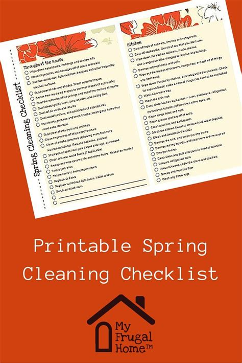 spring cleaning checklist room by room 45 best images about get organized on pinterest storage