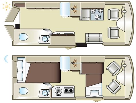 conversion van floor plans okanagan tribute van conversion 2 berth vehicle information
