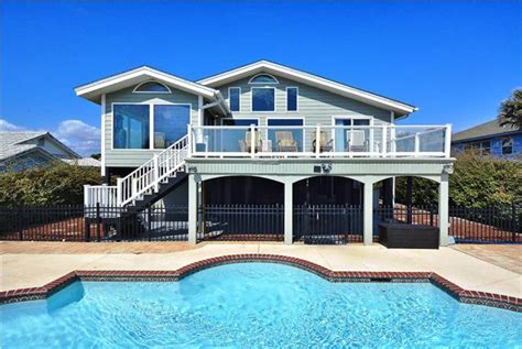 myrtle beach house rentals with pool oceanfront north myrtle beach south carolina usa oceanfront 7 bedroom vacation beach house