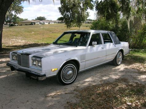 1989 chrysler new yorker 5th avenue option collector