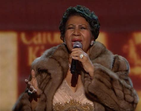 aretha franklin la aretha franklin s kennedy center honors performance