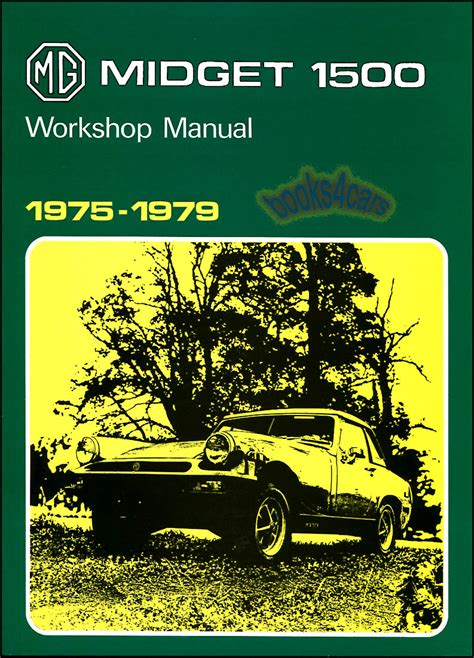 service manual books about how cars work 1979 chevrolet shop manual mg midget service repair factory workshop book 1500 1975 1979 miget ebay