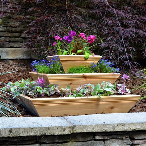 cascadia tiered planter from jackson perkins