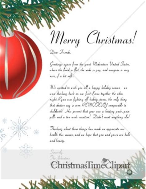 Merry Christmas Ornament Letter Christmas Letter Merry Letter Template