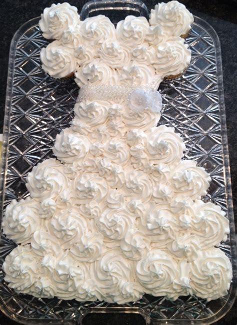 bridal shower cupcakes in shape of wedding dress 13 best images about bridal shower wedding dress cupcake cake on