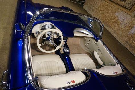 Custom Corvette Interior by 1962 Chevrolet Corvette Custom Convertible 182078