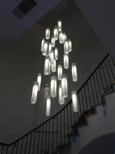 Tall Entryway Table Modern High Ceiling Foyer Lighting Modern Pendant