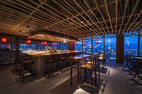 lighting for restaurants and bars into lighting hutong at the shard winners at the
