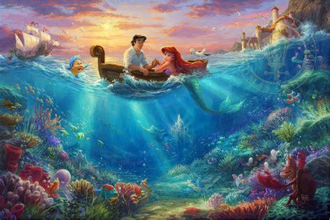 Dw Bwr Canvas Limited Edition kinkade limited edition giclee print
