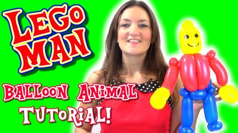 lego ghost tutorial tuesday youtube make a lego man out of balloons tutorial tuesday with
